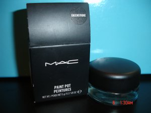 MAC GREENSTROKE PAINT POT (LIMITED EDITION) - SAMPLE