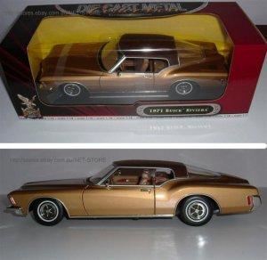 1971 Buick Riviera Gold 1:18