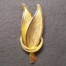 Vintage Brooch Women's Retro Fashion Jewelry Leaf Unity Rings