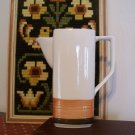 Art Pottery Tru Stone Fantasy Tea Pitcher Coffee Pot Japan Retro Vintage Stoneware