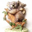 Lefton Figurine Koala With Cub  KW 4751 Vintage China Made in Japan