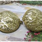 Confetti Shoe Scarf Clips  Vintage Retro Button Lucite Jewelry
