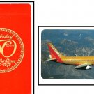 Vintage Airline Playing Cards Boeing 737 Delta 1979 Sealed Decks 50th Anniversary Collectible