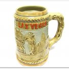 Vintage Hotel Casino Beer Stein Las Vegas Golden Nugget Stardust Ceasars Collectible