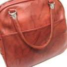 American Tourister Red Carry On Bag Vintage Luggage Overnight Travel Gym Make Up Large Tote