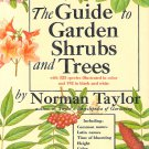 Guide To Garden Shrubs And Trees 1965 Book Collectible Gardening Vegetables Shrubs Horticulture