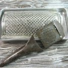 Vintage Brevettata Grater Slicer Shredder Cheese Vegetable Hand Held Kitchen Tool Set Retro Display