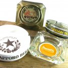 Vintage Casino Ashtrays Collectibles Caesars Tahoe Nugget Harrahs Sapporo Beer