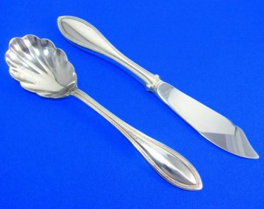 Arbor American Harmony Oneida Spoon Butter Knife Serving Stainless Vintage Flatware Kitchen Dining