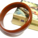 Chunky Bakelite Bracelet Bangle 40s Jewelry Sienna Brown Rust Fashion Retro Mod Boho