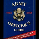 Army Officers Guide Collector's 50th Ed Leadership Military HC DJ 75 Anniversary