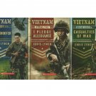 Vietnam Scholastic Book Lot I Pledge Allegiance Sharpshooter Casualties Of War