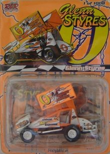 1:64 #0 Glenn Styres Diecast Sprintcar