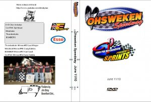 Ohsweken Speedway June 11/10 DVD