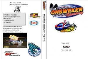 Ohsweken Speedway Aug 6/10 DVD