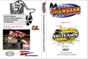 Ohsweken Speedway World of Outlaws July 30/10 DVD