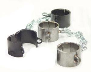 Steel Manacles and Shackles