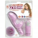 Adam and Eve CyberSilicone 5X G-Spot Hot Handle