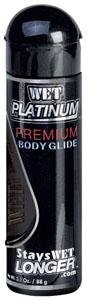 Wet Platinum 3.1 oz Premium Body Glide