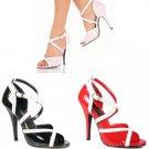 """""""Seduce"""" - Women's Open Double Crisscross Sandals/Shoes"""