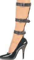 Seduce - Women's Pumps with Studded Straps