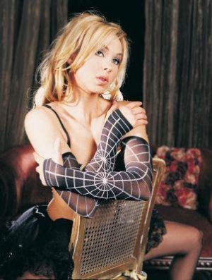Opaque Spiderweb Arm Warmer