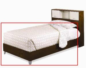 "54"" Kids or Adult Full - Double Size Platform Bed"