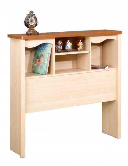 Twin Size Bed Storage Bookcase Headboard