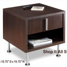 Espresso Living Room Console End Table w/ Drawer & Storage Area - Can be Used as a Night Stand Also