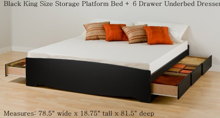 Platform Bed Then Box Then Mattress