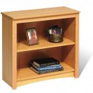 "Maple 29"" Bookcase Book Shelf CD DVD Blu-Ray Storage Organizer - 2 Shelf"