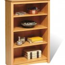 "Maple 48"" Bookcase Book Shelf CD DVD Blu-Ray Storage Organizer - 2 Shelf"