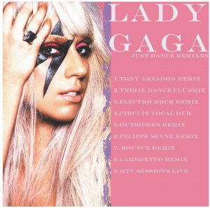 lady gaga just dance dj remix cd rare unreleased gay int