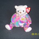 TY Birthday Bear 'October, Opal'