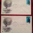 2 - Oct. 4, 1971 Conquer Drug Addiction Dallas, TX  First Day of Issue Envelope