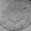 Federal Glass Clear Divided Relish Platter