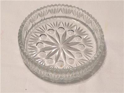 """Anchor Hocking """"Old Cafe"""" Round Candy Dish"""