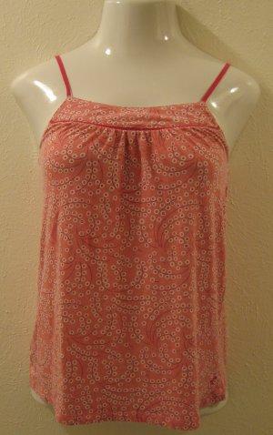 Trendy Pink & White Polka Dot Spaghetti Strap Top - American Eagle Outfitters (Medium)