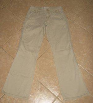Light Tan Flare 5 Pocket Khaki's - Aeropostale (Size Extra Small, 00 Regular)