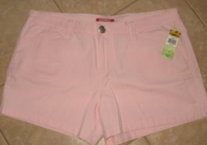Baby Pink 4 Pocket Shorts with Snap Buttons - Union Bay (Size 17) New With Tags