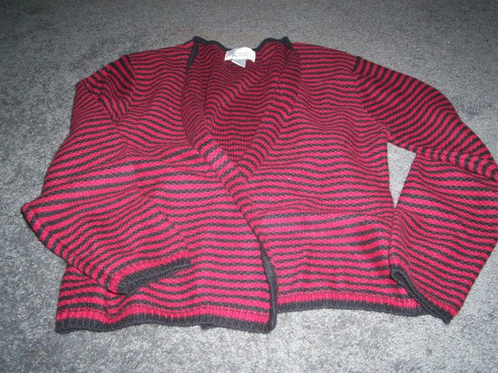 Womens Sweater Jacket Christopher Banks size M