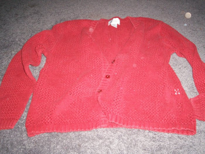 Women's Sweater Cardigan Christopher Banks size M
