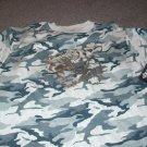 Girls Camo Tee-Shirts w/Tiger imprint NWT