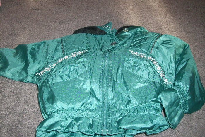 Girls Size 4 Green Winter Coat