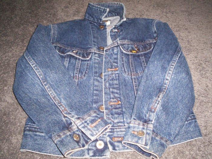 Kids LEE Dark Blue Jean Jacket size 12