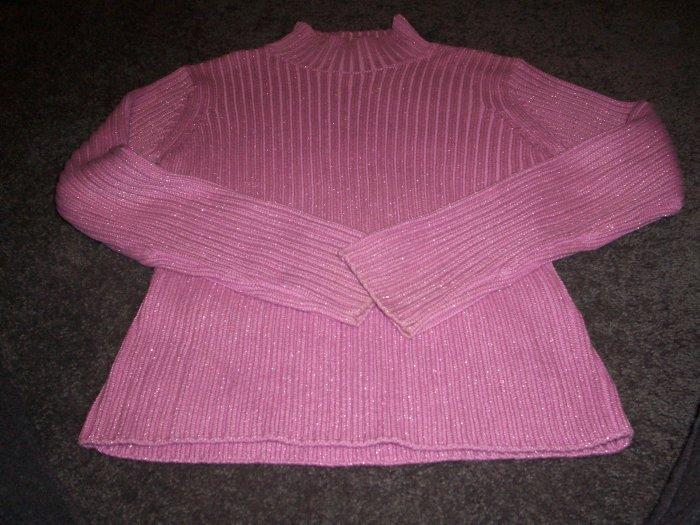 Girls's Glittery Pink GAP Sweater sixe XL