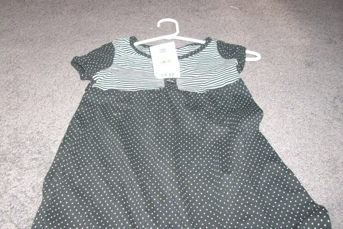 Girls Faded Glory Stretch Dress size 7/8