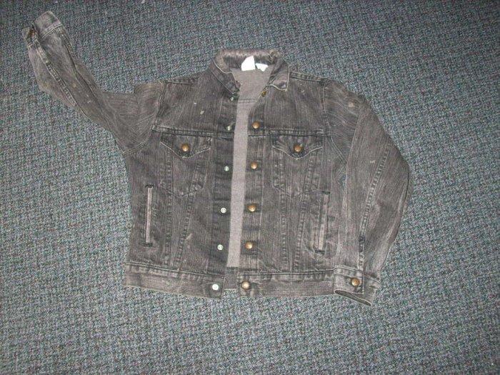 Boys Black Jean Jacket size 18