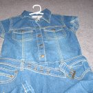 Girls Jean Dress size 12