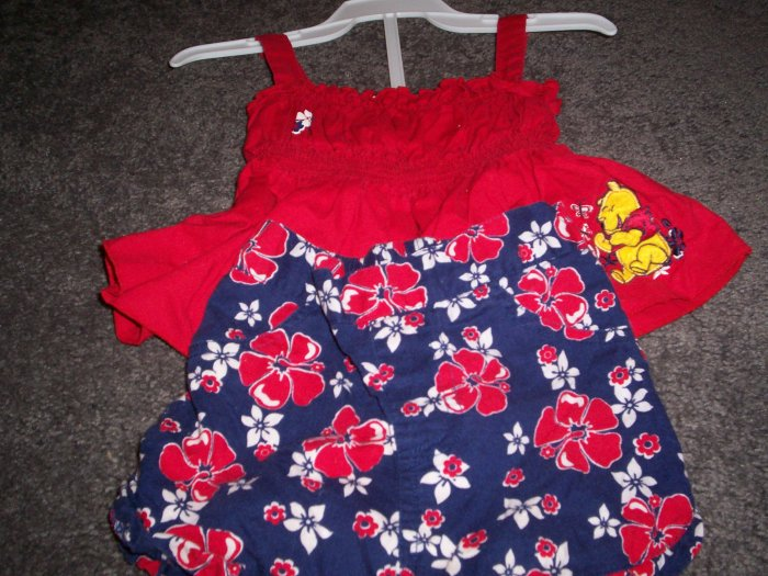 Disney Pooh 18 month 2 piece set